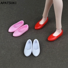 Flat Shoes For Blythe Dolls Blyth 1/6 Flat Doll Casual Shoes For Licca Doll Mini Shoes For Momoko 1/6 BJD Doll Accessories(China)