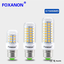 100% Original SMART IC Control No Flicker LED Corn lamp E27 220V 230V long LifeSpan Spotlight Bulb Protect eye health LEDs light