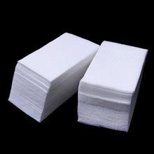 HNM 900pcs/lot Nail Art Tips Wipes Lint Paper Pad Polish Cleaner Remover Manicure Cotton Nail Tools(China)