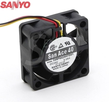 SANYO 109P0424H7D01 4015 4cm 40mm DC 24V 0.08A radiator equipment cooling axial fans(China)