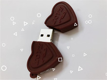 New USB Flash Drive Cartoon Love Sweet Chocolate Flash Drive 4GB 8GB 16GB 32GB 64GB USB 2.0 Flash Memory Stick Flash Drive