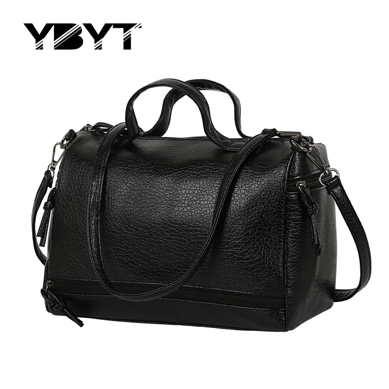 vintage casual leather handbag new fashion women totes ladies purse clutches famous travel brand shoulder motorcycle travel bags<br><br>Aliexpress