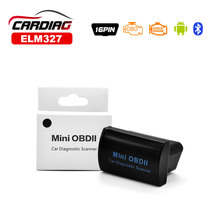 2017 Mini OBDII ELM327 V2.1 Bluetooth OBD2 Diagnostic Tool ELM 327 Bluetooth Works On Android/Windows 3 Color For Choice