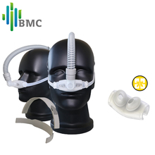 BMC WNP Nasal Pillows CPAP Mask Light CPAP Machine Silicon Mask For Sleep Apnea Buy 2 Pcs Mask And 1 Headgear Get 1 Mask Cushion