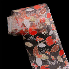 Leaf Flower Design Nail Art Tips Creative Stickers Finger Tape Decal Fingernails Decoration Adhesive DIY  Oct 3