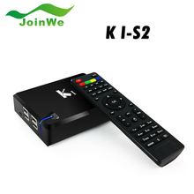 Brand New K1 S2 Android TV Box DVB-S2 Quad Core Amlogic S805 1G+8G XBMC Smart TV WiFi Free Shiping