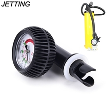 JETTING Air Pressure Digital Meter Body Board Barometer with Hose Adaptor Connector for Inflatable Boat Raft Ribs Kayak