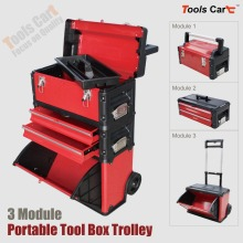 Workshop garage Trolley Portable Tools Case Chest drawers metal equipment Storage Box Toolbox cart roller cabinet composite