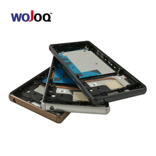 Buy WOJOQ 100% Original New Middle Frame Bezel Housing Cover Case+Side Buttons Sony Z3 L55 L55w D6603 D6653 Replacement Part for $10.90 in AliExpress store