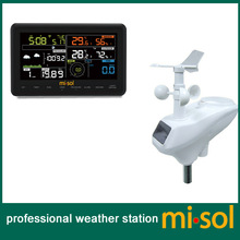Wireless weather station connect to WiFi, upload data to web weathercloud, wunderground, weatherbug