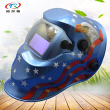 Auto Darkening Welding Helmet full face best price welder Welding mask Solar Power inner battery manufacturer made KD03(2233DE)(China)