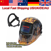 New Solar Auto Darkening Welding Helmet Mask MIG/ARC/TIG Welder Machine(China)