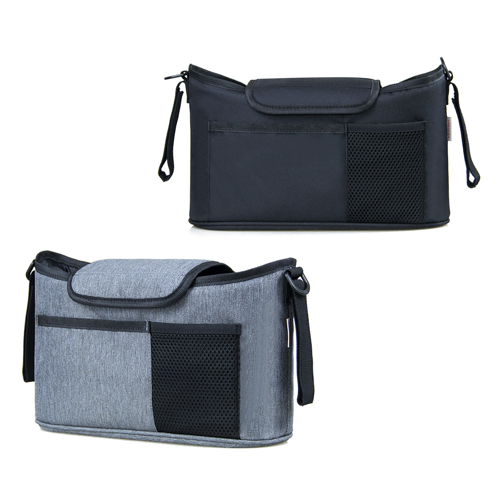 Shopping Stroller Use Baby Care Storage Bag Diaper Organizer Flip Type Stuff