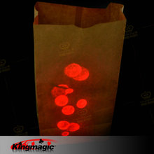 Dlite  Bag Lites Free Finger Light without battery King Magic Props Stage Magic Tricks Children Toys Free Shipping