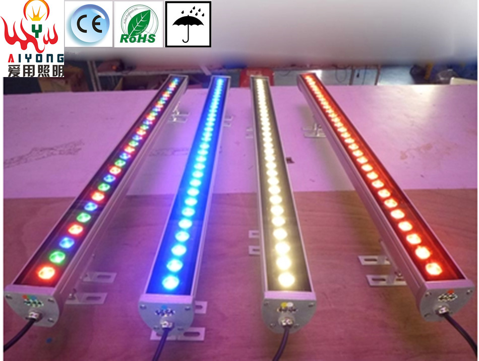 LED wash wall light outdoor bridge engineering outline of the high power 9 w waterproof project-light lamp Line lights<br><br>Aliexpress