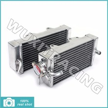 L / R New Aluminium Core MX Offroad Motorcycle Parts Radiators Cooler Cooling for HONDA CRF450R CRF 450 R 2002 2003 2004 02-04(China)