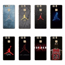 NBA Basketball Superstar James Curry AIR JORDAN 23 Design Silicone Soft Phone Bag & Case For Huawei P7 P8 P9 Lite P9 Plus Covers