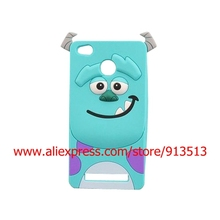For Xiaomi Redmi 3S 3 3X 4A Case Hot Selling Cartoon Sulley 3D Silicone Cell Phone Skin Cover