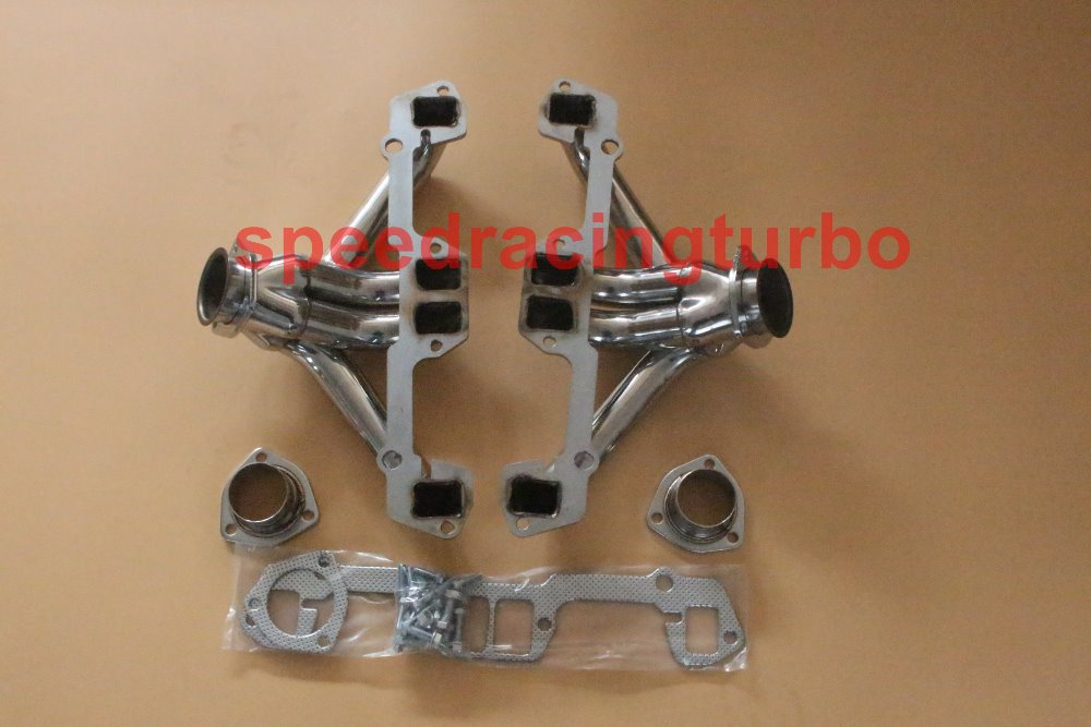 Small Block Mopar Chrysler Dodge Stainless Steel Block Hugger Exhaust Headers