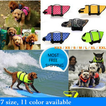 2 PCS/LOT Dogs Lifejacket Swimsuit Pet Safety Clothing Outdoor Survival Animal Products