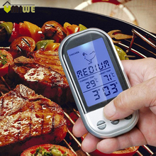 Digital BBQ Thermometer Remote Control Long Range Kitchen Cooking Food Meat Thermometer With Probe and Timer Temperature Alarm