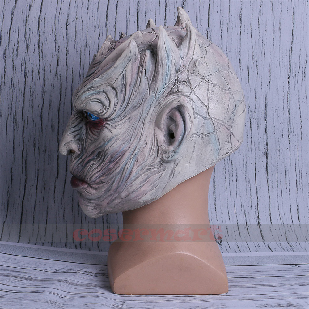 Cosplay Game of Thrones Night's King Walker Face NIGHT RE Zombie Halloween Mask For Adults Throne Costume Party Accessory (4)