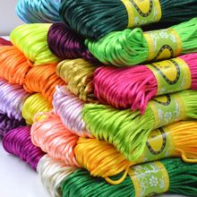 About 20m/lot Chinese Knot Macrame Rope Thread Wire DIY Jewelry Accessories Bracelet Beading Cords