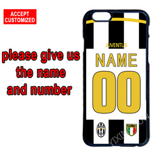 Juventus Customize Jersey Your Name Number Phone Cover Case for Samsung Galaxy S3 S4 S5 Mini S6 S7 S8 Edge Plus Note 3 4 5 8
