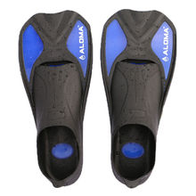 ALOMA swimming training game of short fins adult children universal swim fins flippers snorkeling Sambo snorkeling equipment sui