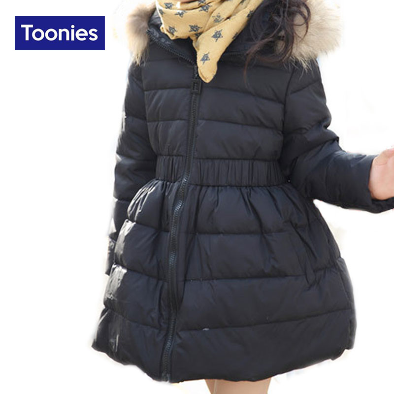 Girls Winter Coat Thicken Warm Cotton Padded Hooded Kids Winter jacket for girls clothes Children clothing Parkas Long CoatОдежда и ак�е��уары<br><br><br>Aliexpress