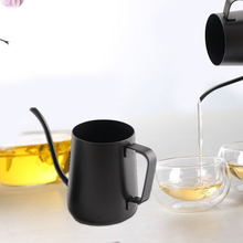 Best Kitchen Tool 250ML 350ML Stainless Steel Coffee Kettle Teapot Coffee Kettle Style Tea and Coffee Drip Kettle pot(China)