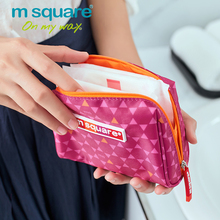 M Square Travel Sanitary Napkin Bags Sanitary Towel Women Storage Organizer Bag Hand Clucth Pouch Storage Girl Napkin Holder(China)