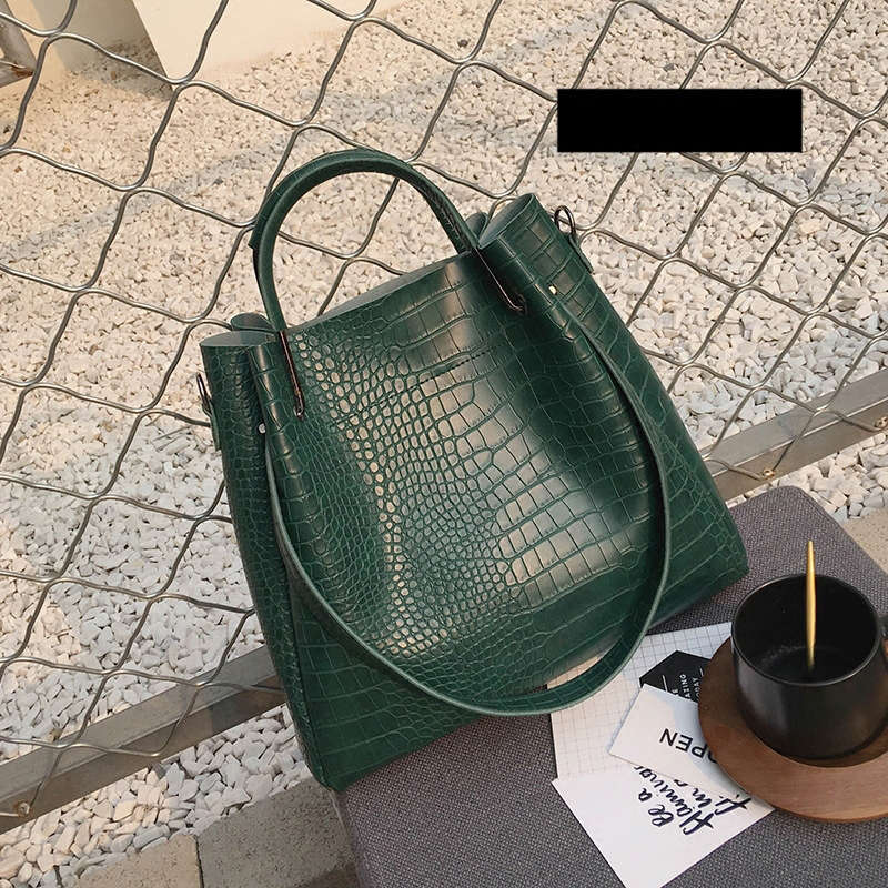 2017fashion crocodile pattern picture bags Crossbody Bags designer women handbags Vintage Retro Women Leather tote Bag<br>