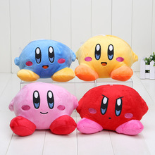 12cm New Hot Game Super Mario Star Kirby Soft Stuffed Animal Doll Fluffy Plush Doll Gift for Children