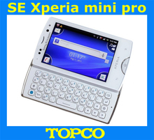 "SK17i original Sony Ericsson Xperia Mini Pro SK17i unlocked cell phone SE SK17 3.0"" 5.0MP 3G GSM WIFI GPS QWERTY dropshipping"