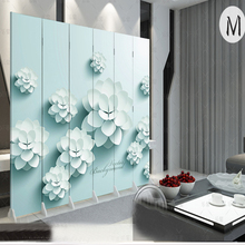 2 Pieces Wooden Wall Panels Stylish Modern Minimalist Living Room Entrance Bedroom Hotel Office Wall Partition Plate 180 * 40cm(China)