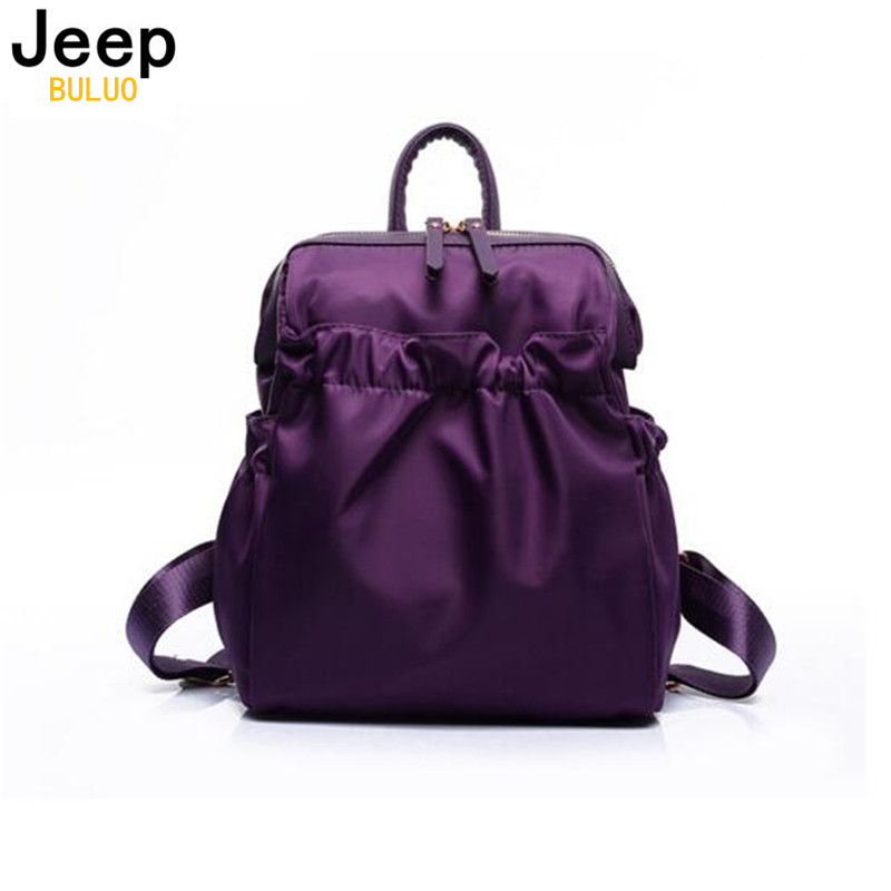 Young Woman Backpack Fashion High Quality Waterproof Nylon Female Backpacks Young Girls Travel bags 7739<br><br>Aliexpress
