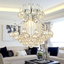 MAMEI Free Shipping High Quality K9 Crystal Modern Chandelier Luminaria For Dinner Room 110-240V Voltage(China)