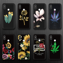 Чехол из ТПУ для Xiaomi Redmi Note 6 5 Pro 3 6A 4X3 4A 5A 5 Plus Global 4X 5A flower для iPhone 7 Plus XS Max XR X 5 SE 6 8 7 Чехол(Китай)