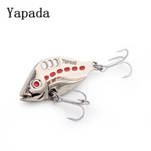 yapada metal vib spoon bait fishing 10g 15g 20g 25g 3dfish eye isca artificial bass carp fishing tackles china fishing equipment(China)