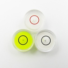 (10 Pieces/lot) 14.3*8 mm Acrylic Universal Bubble Level Spirit Level Bubble Horizontal Instrument Bullseye Style