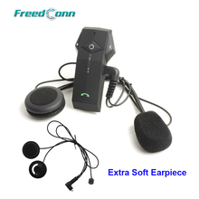 FreedConn Brand 1000M Motorcycle Helmet Bluetooth Intercom Headset NFC FM radio+Extra Soft Earpiece COLO Free Shipping!!(China)