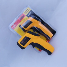 (With box)Non-Contact Digital Laser Temperature Gun IR Infrared Thermometer Sight GM550 -50~550C (-58~1022F)Emissivity 0.95 12:1