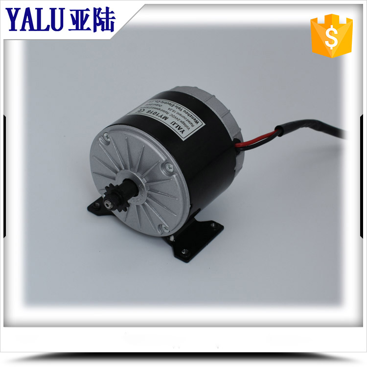 China high speed scooter brushed DC Motor MY1016 350W 24V for E-bike<br>