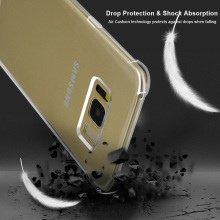 S8 Case For Samsung Galaxy S8 Plus Case Silicon Ultra Thin Soft Transparent TPU Shockproof Case For Samsung S8 Plus Slim Cover(China)