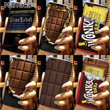 MaiYaCa Phone Case For iPhone 6 6s Case Willy Wonka Bar With Golden Ticket Sweet Chocolate Bar(China)