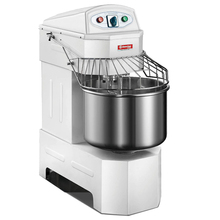 40L=18KG FLOUR Spiral dough mixer Electric Stainless steel dough mixer machine AXIL AND BOWL CAN RUN