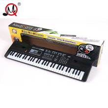 Children 61 Keys USB Play Function Electric Piano Organ Music Electronic Keyboard Key Board Toys For Kids Chrismas Gift(China)