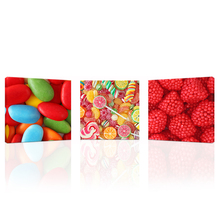 Wall Art 3 Pieces I Love Sweet Candies Canvas Art Print Bon Appetite Wall Picture for Candy Store Children's Room Decoration(China)