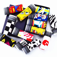 Buy Summer Sexy Men underwear cartoon pull boxer shorts calzoncillos hombre male underpants man flag panties men boxer homens